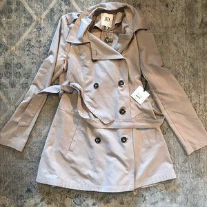 BB Dakota JACK women's trench coat jacket Medium